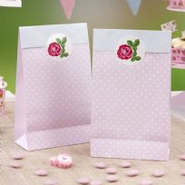 Vintage Rose Party Bags (5)